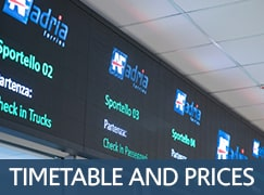 Timetable and prices Adria Ferries