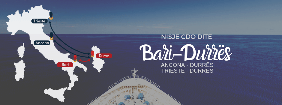 Linja Bari Durres Adriaferries