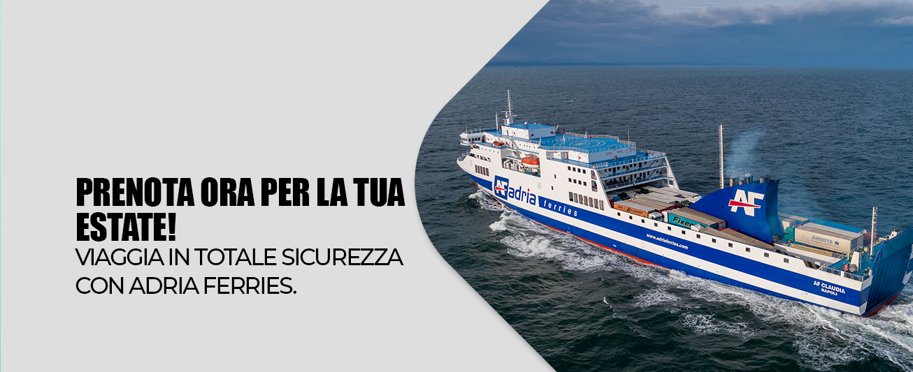 Viaggia in totale sicurezza con Adria Ferries!