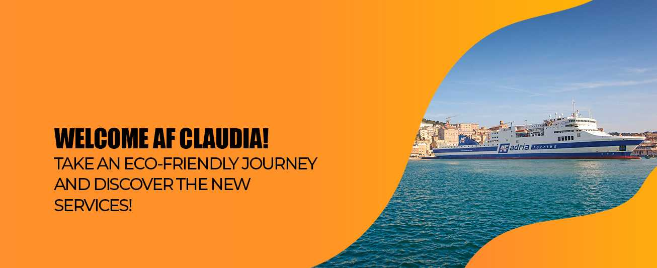AF Claudia New Ferry Adriaferries