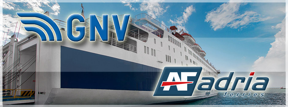 Partnership con gnv adria ferries for Grandi arredi bari