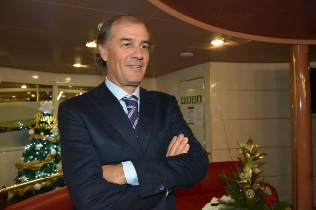 Alberto Rossi CEO di Adria Ferries